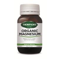 Thompsons Organic Magnesium (120 Tablets)