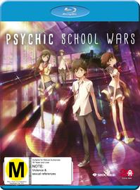 Psychic School Wars on Blu-ray