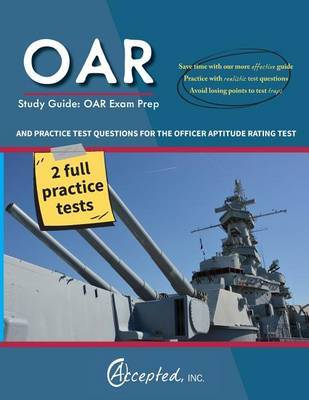 Oar Study Guide by Oar Exam Prep Team image