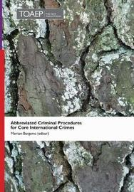 Abbreviated Criminal Procedures for Core International Crimes image