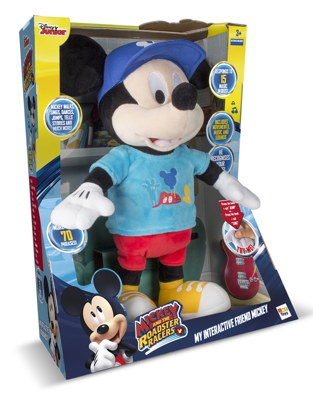 Disney: My Interactive Friend Mickey - Plush Toy