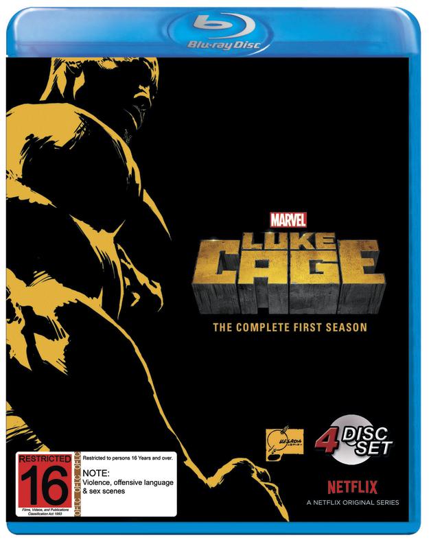 Marvel's Luke Cage - Season 1 on Blu-ray