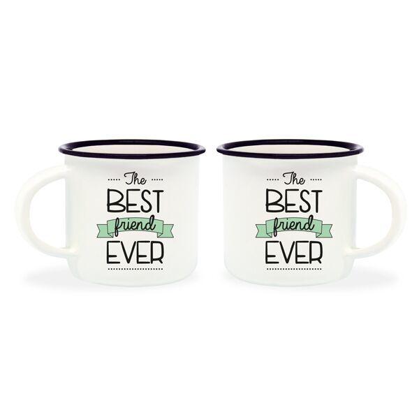 69e1e0664cb Espresso For Two - Best Friend Ever (Set of 2) | at Mighty Ape NZ