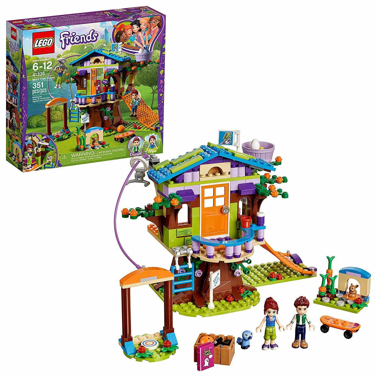 Lego Friends Mias Tree House 41335 Toy At Mighty Ape Nz