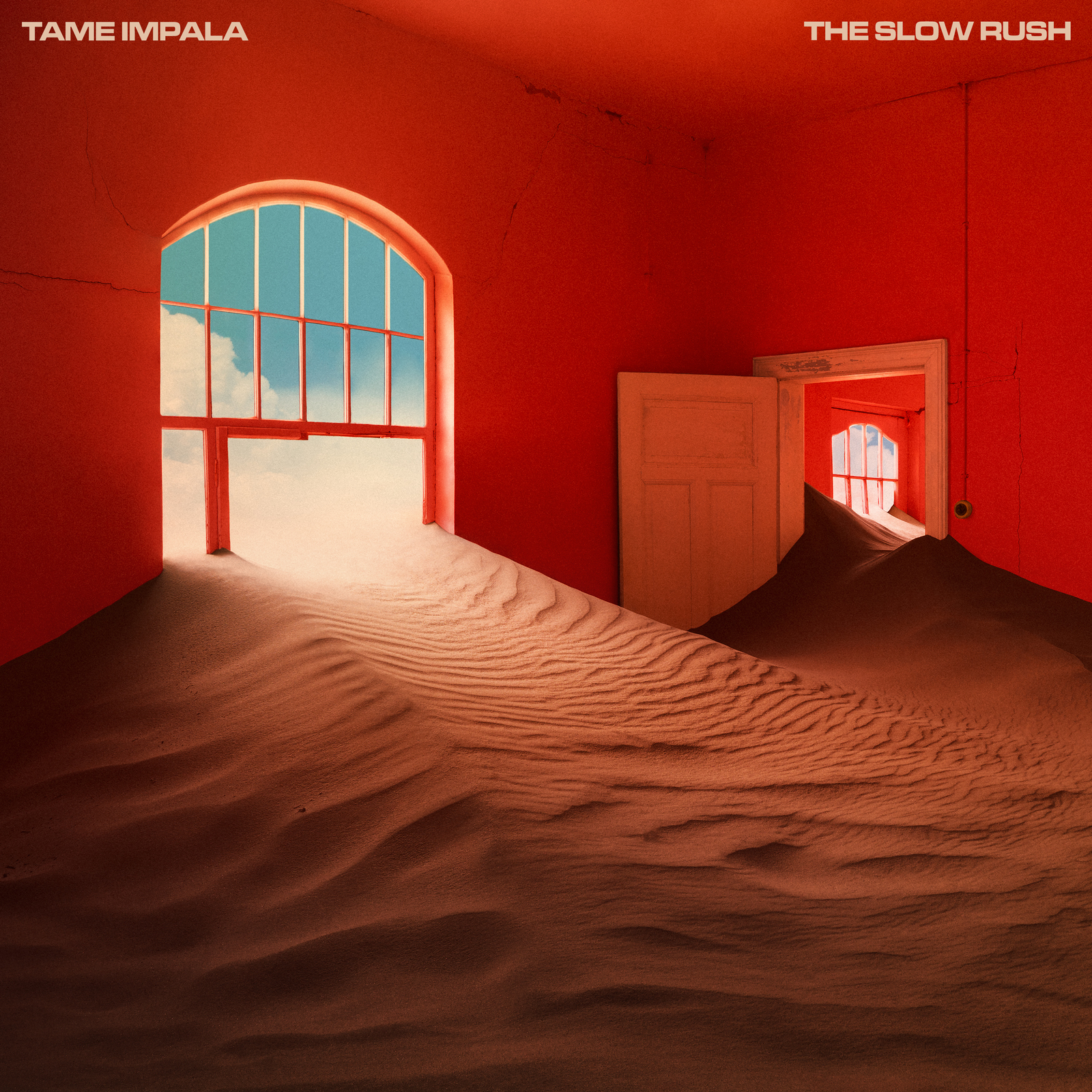 The Slow Rush (Coloured LP) by Tame Impala image