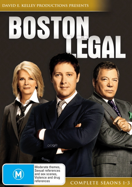 Boston Legal - Complete Seasons 1-3 (18 Disc Box Set) on DVD