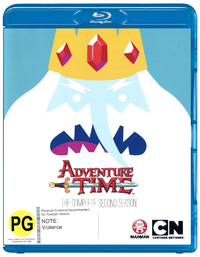 Adventure Time - The Complete Second Season on Blu-ray