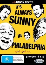 It's Always Sunny in Philadelphia - Seasons 1 & 2 on DVD