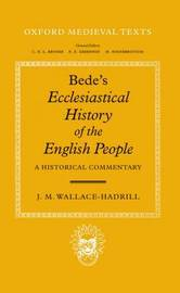 Bede's Ecclesiastical History of the English People by J.M.Wallace- Hadrill image