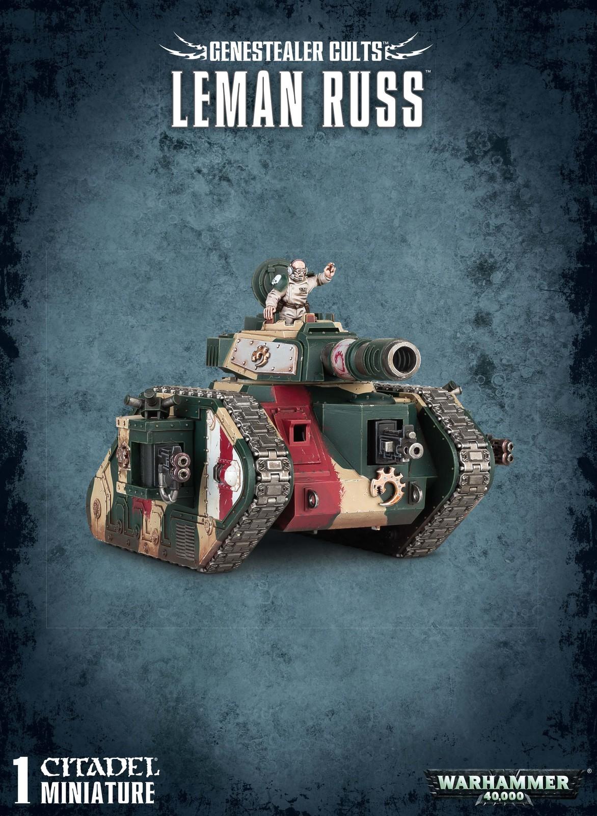 Warhammer 40,000 Genestealer Cults: Leman Russ image