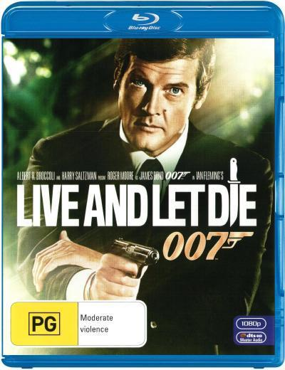 Live and Let Die (2012 Version) on Blu-ray