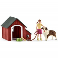 Schleich: Dog Kennel