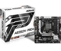 ASRock AB350M Pro4 mATX Motherboard image