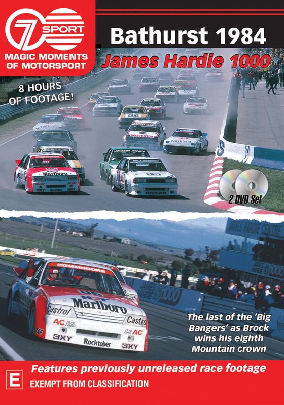 Magic Moments Of Motorsport: Bathurst 1984 on DVD