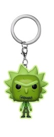 Rick & Morty - Toxic Rick - Pocket Pop! Keychain