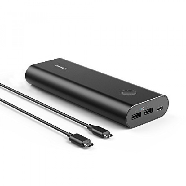 ANKER: PowerCore+ 20100mAh USB-C - Black
