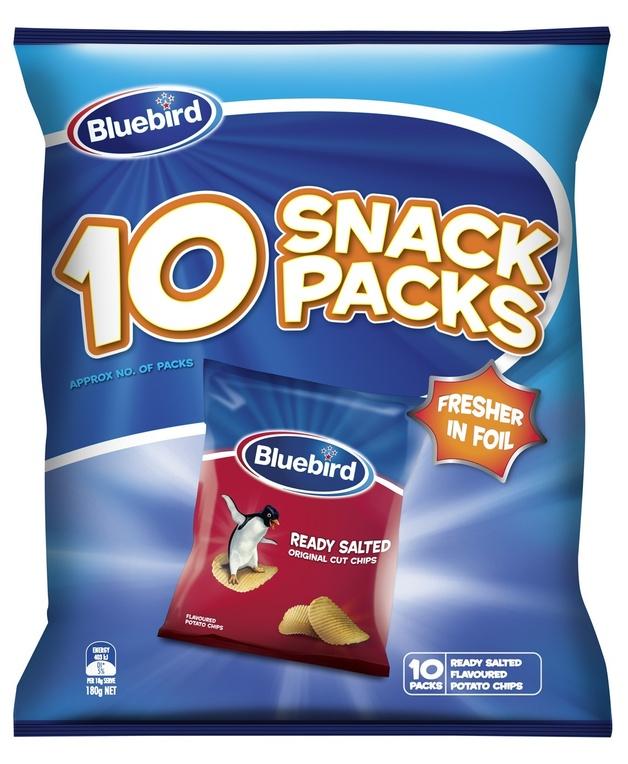 Bluebird Multipack - Ready Salted (10 Pack) 12pk