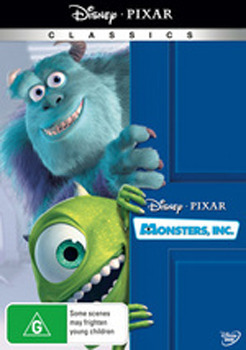 Monsters, Inc. (New Packaging) on DVD