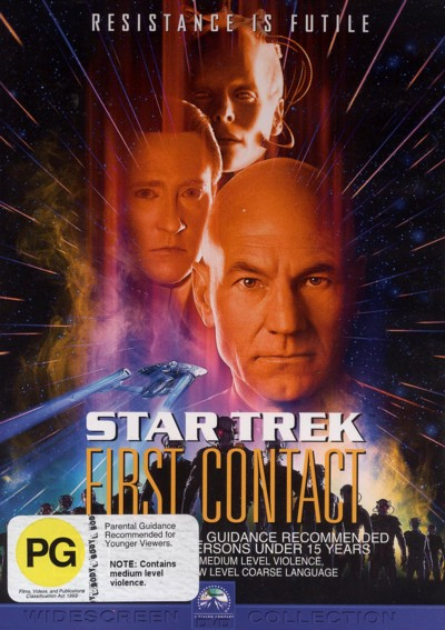 Star Trek 08 - First Contact on DVD image