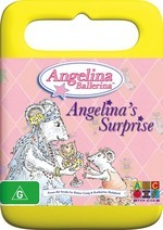Angelina Ballerina - Angelina's Surprise (Handle Case) on DVD