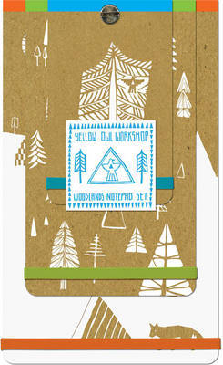 Yellow Owl Woodlands Notepad Set by Yellow Owl Workshop image