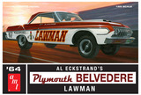 AMT: 1/25 1964 Plymouth Belvedere (Lawman Super Stock) - Model Kit