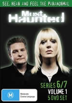 Most Haunted - Series 6/7 - Vol. 1 (4 Disc Set) on DVD