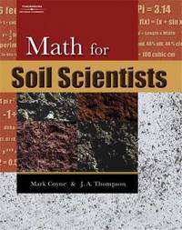 Math for Soil Scientists by James Thompson image