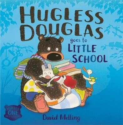 Hugless Douglas Goes to Little School Board book by David Melling image