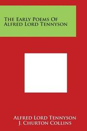 The Early Poems of Alfred Lord Tennyson by Alfred Tennyson image