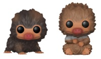 Fantastic Beasts 2 - Baby Nifflers (Brown & Tan ) Pop! Vinyl 2-Pack