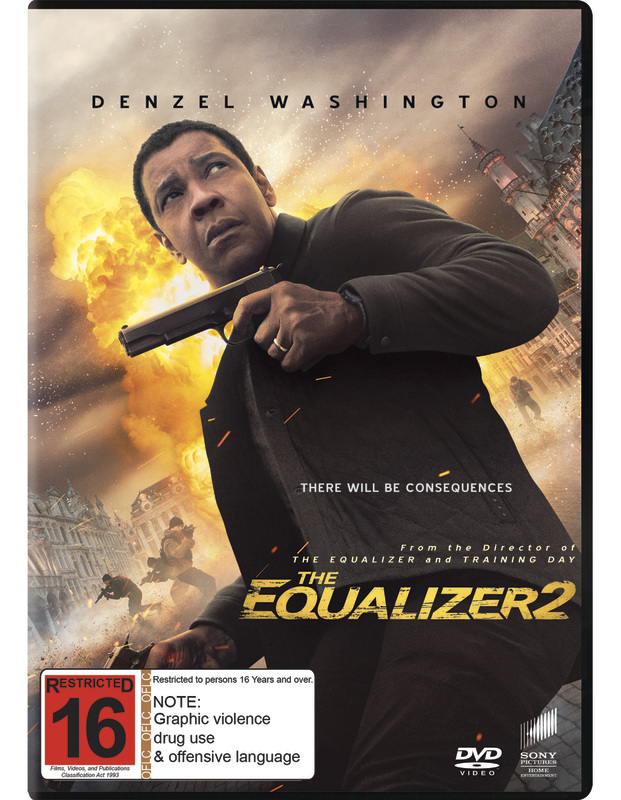 equalizer 2 dvd release date