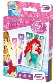 Shuffle: 4-In-1 Card Games - Disney Princess