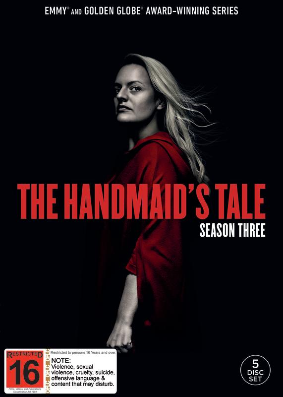 The Handmaids Tale - Season 3 on DVD