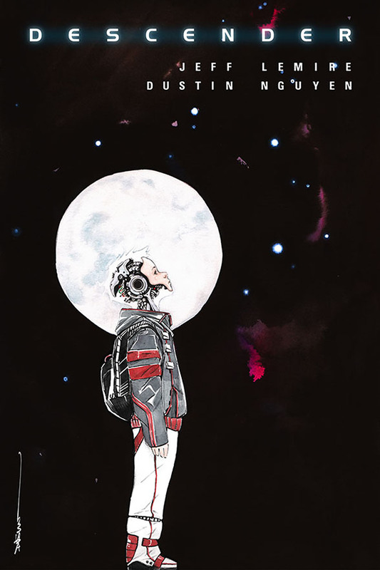 Image Firsts: Descender - #1 by Jeff Lemire