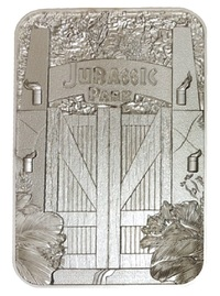 Jurassic Park: Entrance Gates - Metal Card