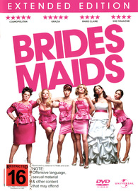 Bridesmaids on DVD