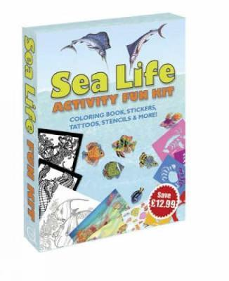 Sea Life Activity Fun Kit by Dover image