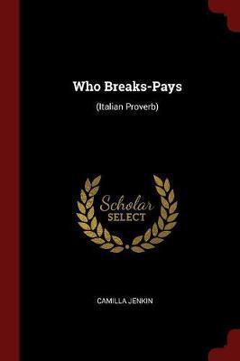 Who Breaks-Pays by Camilla Jenkin