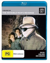 Invisible Man's Revenge on Blu-ray
