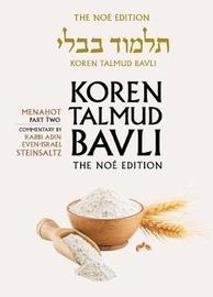 Koren Talmud Bavli: v. 36 by Adin Steinsaltz