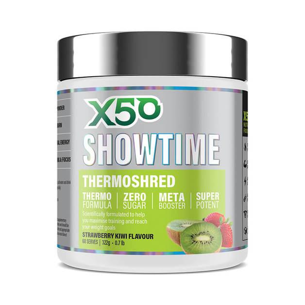 X50 Showtime: Thermoshred - Strawberry Kiwi (322g)