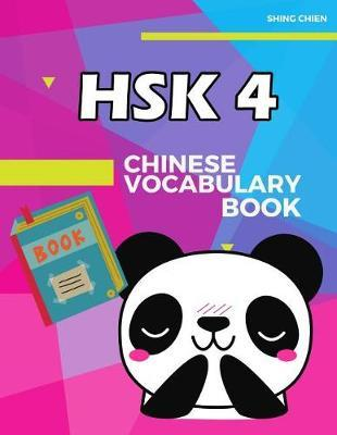 Chinese Vocabulary Book HSK 4 by Shing Chien