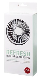 IS Gift: Refresh - Portable USB Rechargeable Fan (Grey)