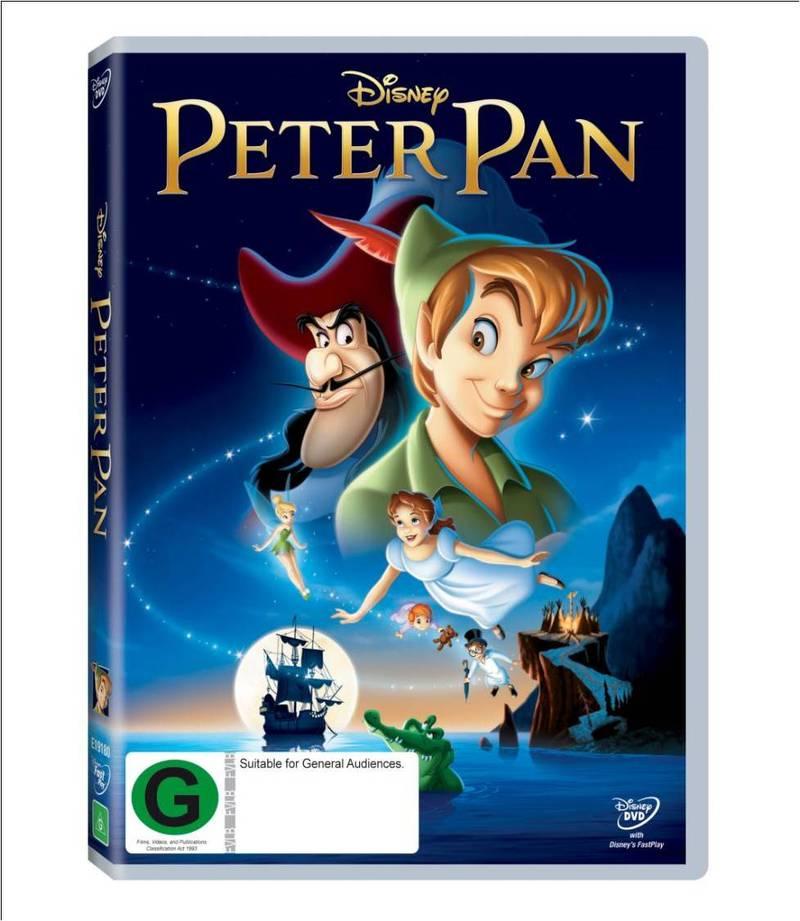 Peter Pan on DVD image