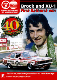 Brock & XU-1: Bathurst 1972 (Magic Moments of Motorsport) on DVD image