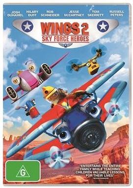 Wings 2: Sky Force Heroes on DVD