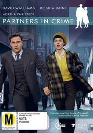 Partners in Crime on DVD