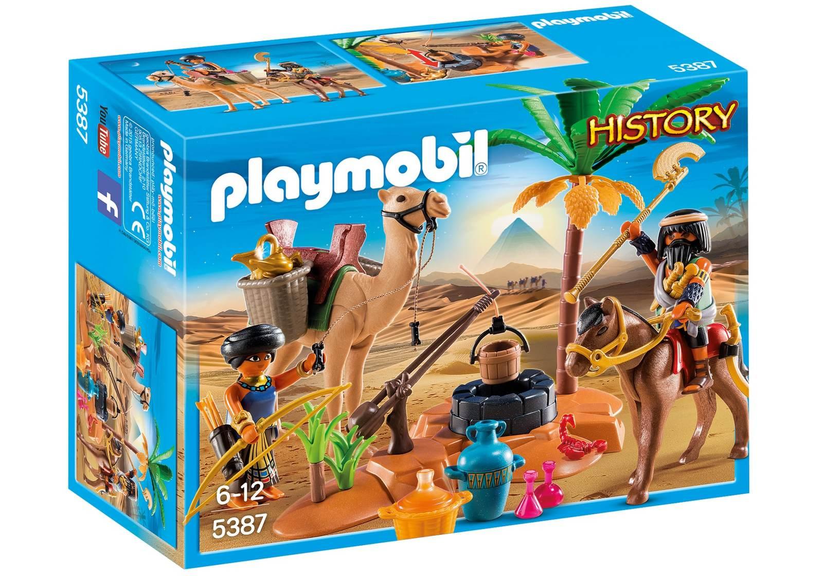 Playmobil: History - Tomb Raiders Camp image