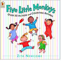 Five Little Monkeys by Zita Newcome image